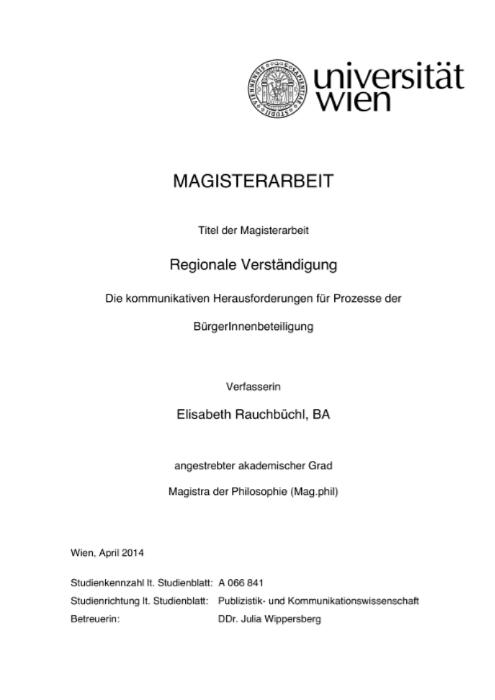 MA Elisabeth Rauchbüchl