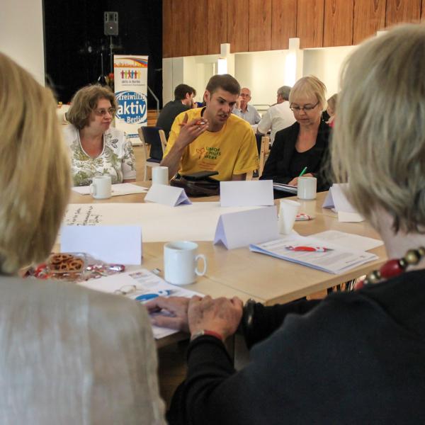 Erster Runder Tisch 2014. Foto: Rodejohann