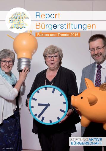 Report Bürgerstiftungen 2016